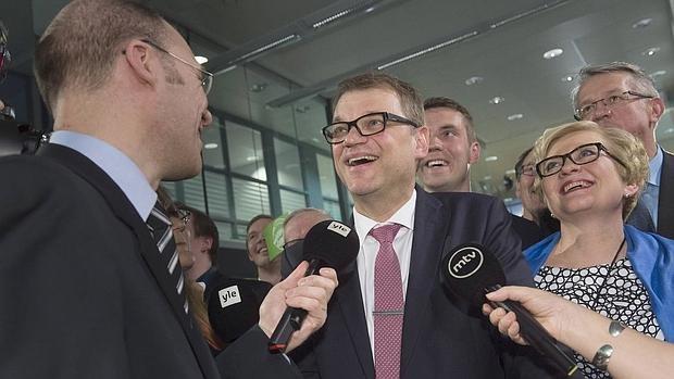 El primer ministro de Finlandia, Juha Sipilae