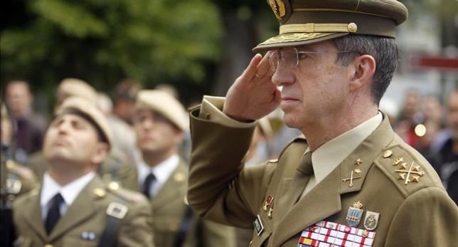 El jefe del Estado Mayor del Ejército