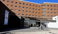 Vista del Hospital de Ciudad Real, en el que se encuentran ingresados los afectados por la legionella