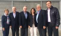 Mireya Moscoso, Andrés Pastrana, Miguel Ángel Rodríguez, Laura Chinchilla, Luis Alberto Lacalle y Jorge Quiroga están en Venezuela para observar las elecciones parlamentarias