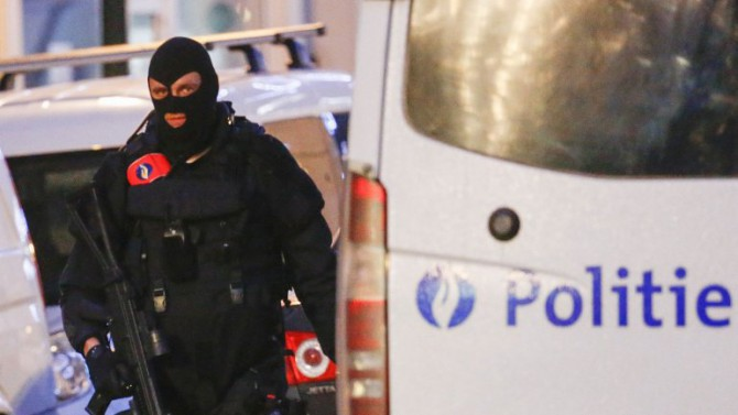 """Bruselas alberga las instituciones europeas y la OTAN y, desde finales de noviembre, se halla en el """"nivel 3 de alerta terrorista"""""""