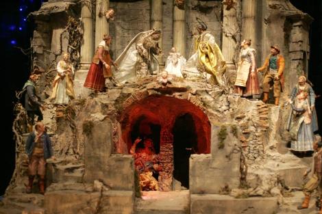 Escena del Portal del Belén del Príncipe (Palacio Real de Madrid) Siglo XVIII