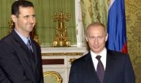Putin (d) y Al-Asad