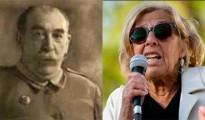 El general Saliquet y Manuela Carmena