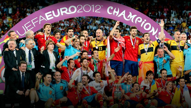 España, vigente campeona de Europa
