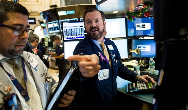Una sesión de Wall Street.