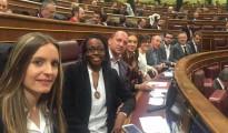 Los diputados de Compromís en el Congreso de los Diputados junto a Toni Cantó
