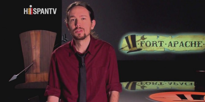 Pablo Iglesias, en su programa 'Fort Apache'.