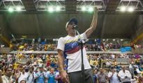 En la imagen, el dos veces candidato a la Presidencia y gobernador del céntrico estado Miranda, Henrique Capriles.