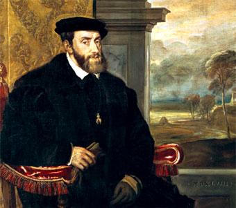 Carlos I de España y V de Alemania (óleo de Tiziano)
