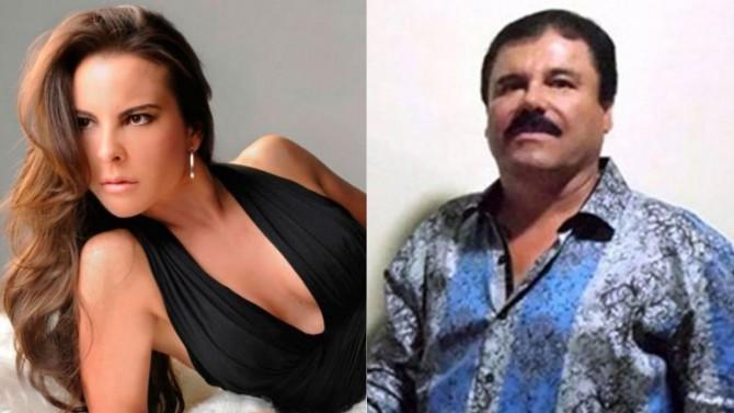 """Kate del Castillo y """"El Chapo"""" Guzmán"""