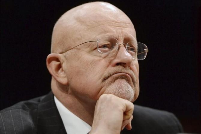 En la imagen, el director nacional de Inteligencia de EE.UU., James Clapper.