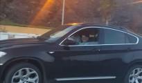 Fotografía facilitada por la Guardia Civil de Ceuta que ha detenido a un matrimonio compuesto por un italiano y una mujer marroquí por un delito contra la seguridad vial al permitir a un menor de 10 años conducir un vehículo de gran cilindrada, marca BMW y modelo X6, y grabarlo con un móvil.
