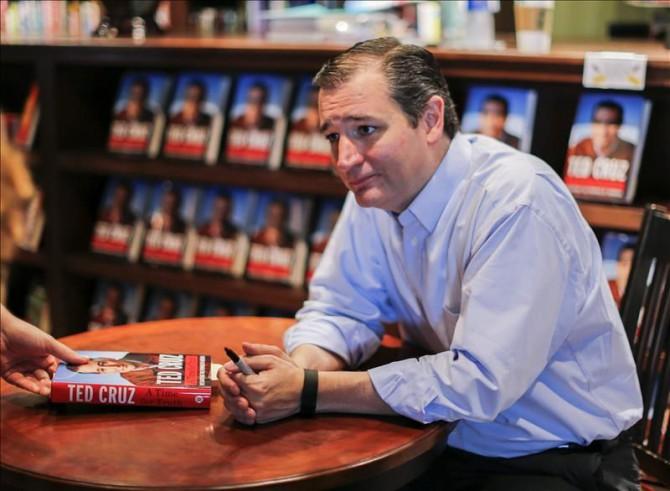 En la imagen, el senador republicano y candidato presidencial Ted Cruz.
