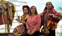 """La viceministra de Turismo de Guatemala, Maruja Acevedo, durante la presentación hoy de su oferta turística de """"un Caribe diferente"""""""