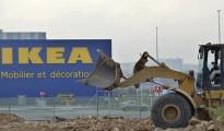 Obras de la tienda de Ikea a las afueras de Casablanca