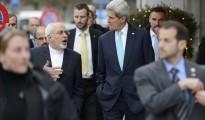 El secretario de Estado de EE.UU., John Kerry, y su homólogo iraní, Mohammad Javad Zarif.