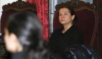 Monserrat González, autora confesa del crimen de la presidenta de la Diputación, Isabel Carrasco, esta semana en las primeras sesiones del juicio, en la Audiencia de León.