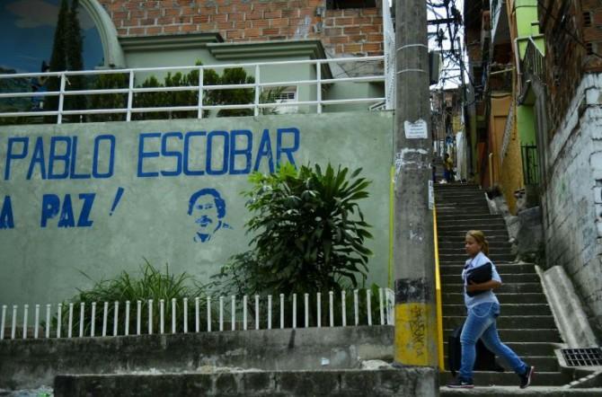 El barrio del narcotraficante Pablo Escobar de Medellín, en Colombia