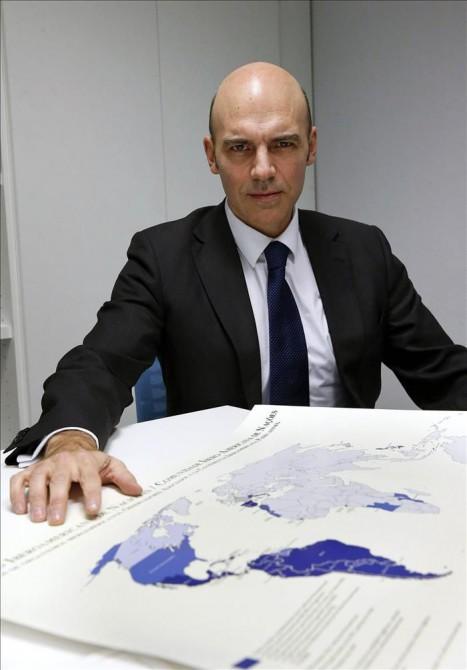 El académico y geopolitólogo Frigdiano Álvaro Durántez Prados