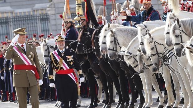 El Rey preside la Pascua Militar