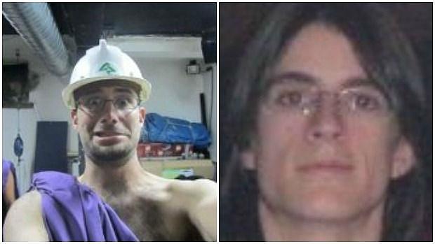 A la izquierda, Rubén P.; a la derecha Alfonso L. F.