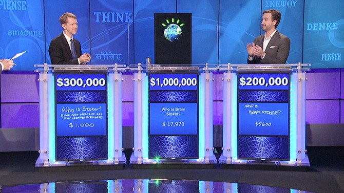 Watson en el concurso 'Jeopardy!'