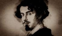 Retrato de Gustavo Adolfo Bécquer realizado por su hermano Valeriano. Museo de Bellas Artes de Sevilla