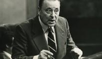 Blas Piñar, en el Congreso de los diputados, un día antes del 23-F