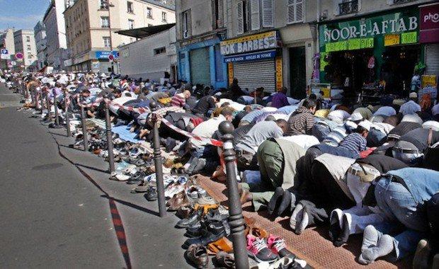 Una calle de Bruselas.