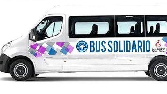 Imagen del microbús.