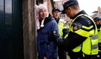 Edwin Wagensveld en el momento de su detención