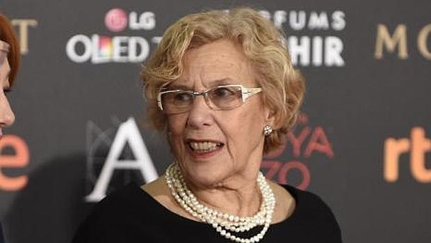 Manuela Carmena, en la gala de los Goya
