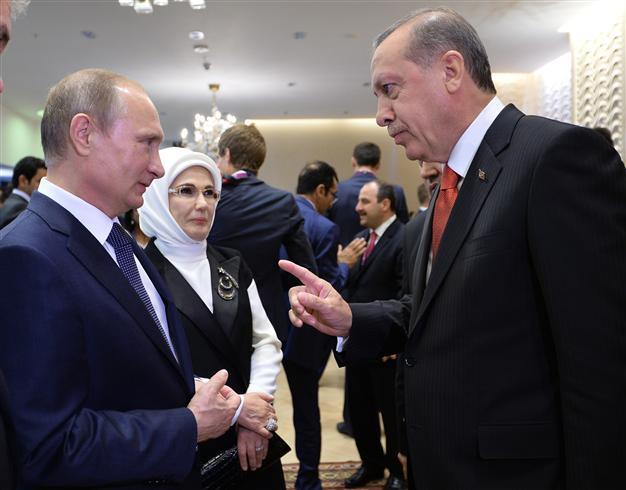 Erdogan y Putin
