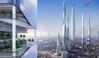 Posible línea de horizonte de Londres en 2016 según el informe de SmartThings