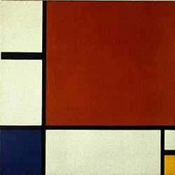 Un cuadro de Mondrian de 1930