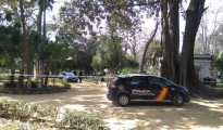 La Policía en el lugar del suceso