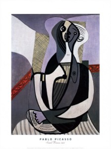 Picasso, Mujer sentada, 1927