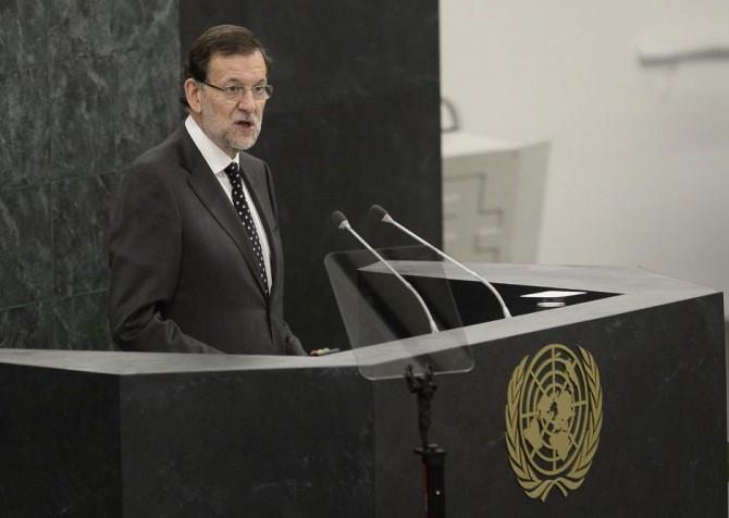 Rajoy, en la asamblea general de la ONU.