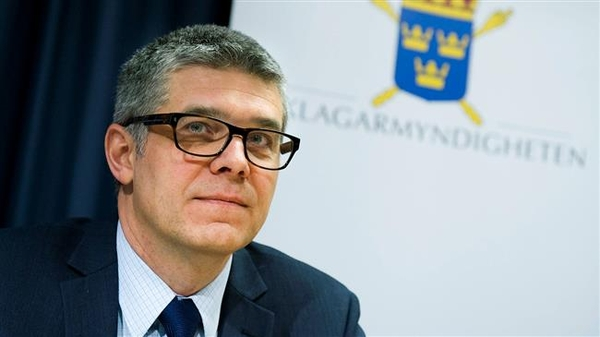 El jefe del Servicio de Seguridad sueco, Anders Thornberg