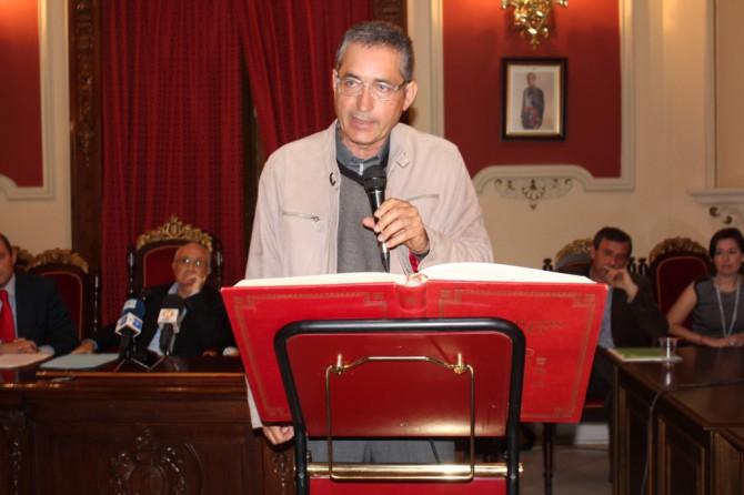 El alcalde de Alginet, Jesús Boluda