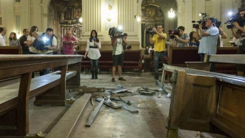 Ataque con bomba a la Basílica del Pilar, Zaragoza, el 2 de octubre de 2013