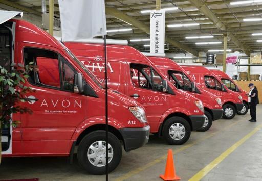 Unos vehículo de Avon, el 11 de enero de 2013 en Columbus, en el Estado de Ohio