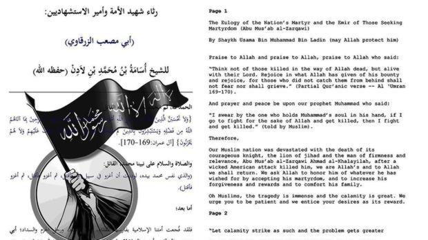 Extracto de las cartas de Bin Laden publicadas por EE.UU. -