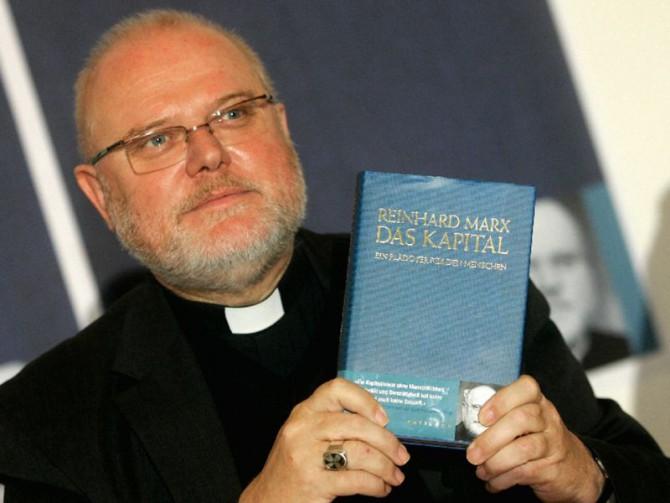"""Reinhard Marx, durante la presentación de su libro: """"El capital – Una defensa del hombre"""""""