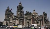 Catedral metropolitana de México, construída por los españoles en el siglo XVI
