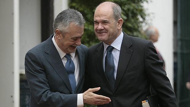 Griñán y Chaves, en una imagen de archivo