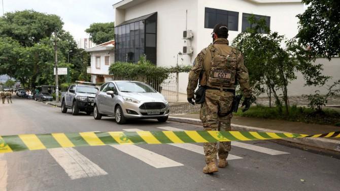 La policía registró el Instituto Lula.