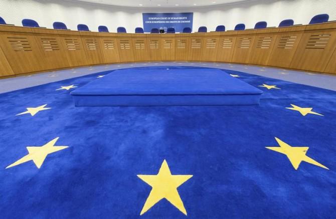 Vista general del salón de asambleas del Tribunal Europeo de Derechos Humanos, en Estrasburgo (Francia).