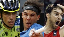 Contador, Nadal y Gasol